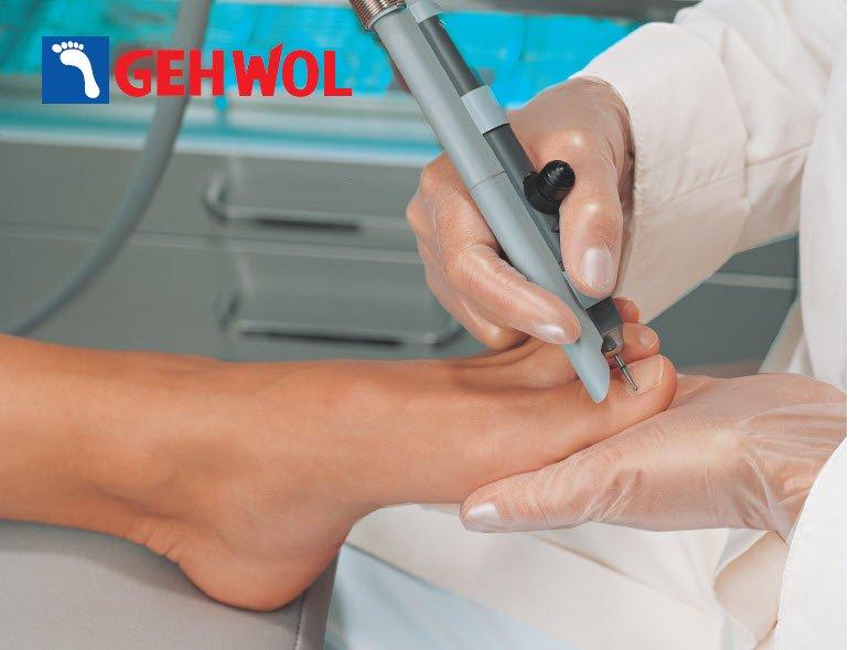 Аппаратный педикюр с GEHWOL